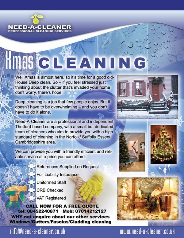 Xmas Cleaning