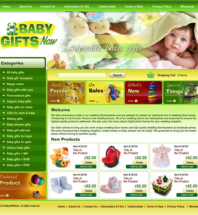 Baby Gifts Now