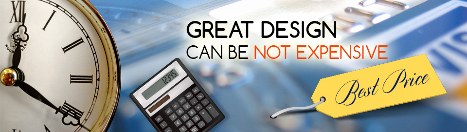 Great design can be not expensive