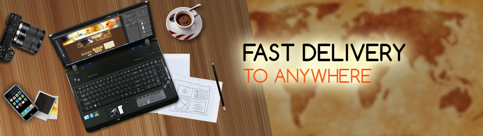 Fast delivery to anywhere